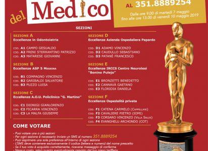 Festa del Medico: al via un televoto per premiare le eccellenze messinesi